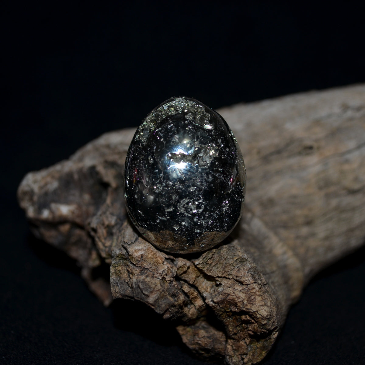 Pyrite Egg - Masculine Uplifting Positivity Abundance - Shop Now at Illiom Crystals - Afterpay Available