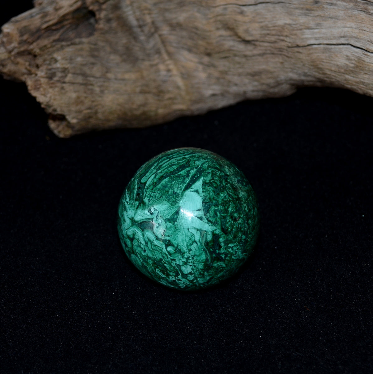 Stunning Malachite Sphere - Protective Healing Truth - Shop Now at Illiom Crystals - We Have Afterpay