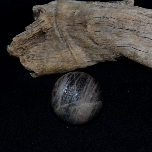 Black Moonstone Sphere B (GSL14B)