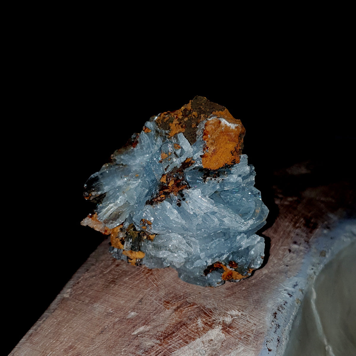 Blue Barite Cluster - Shop Now at Illiom Crystals - Afterpay Available