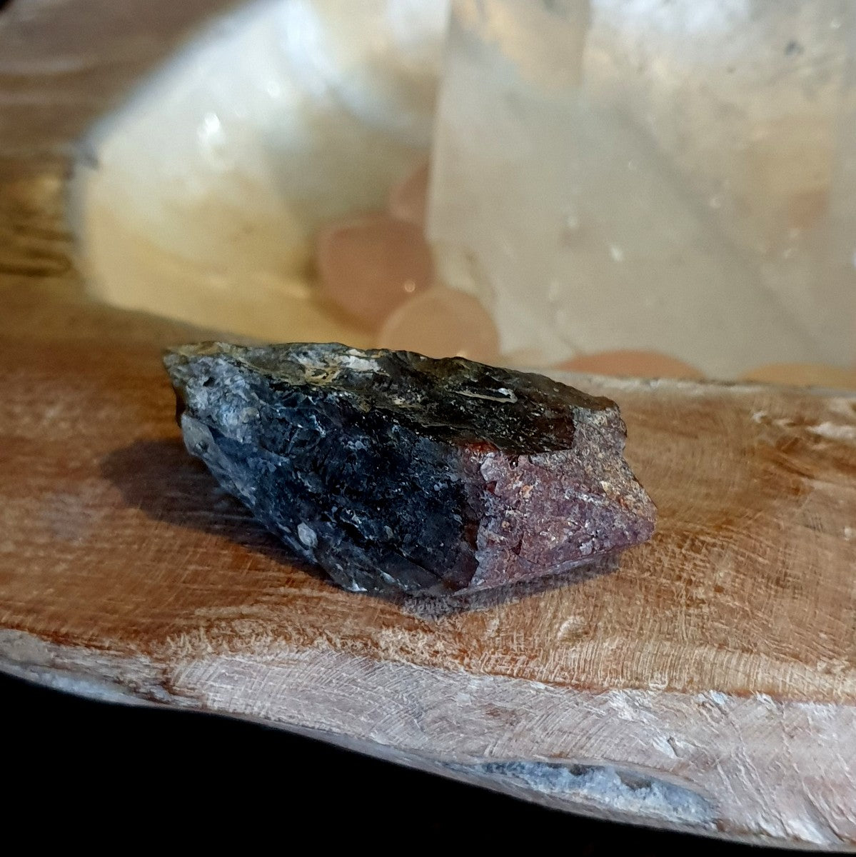 Super 7 Natural Raw Point Brazil - Illiom Crystals - Afterpay Available