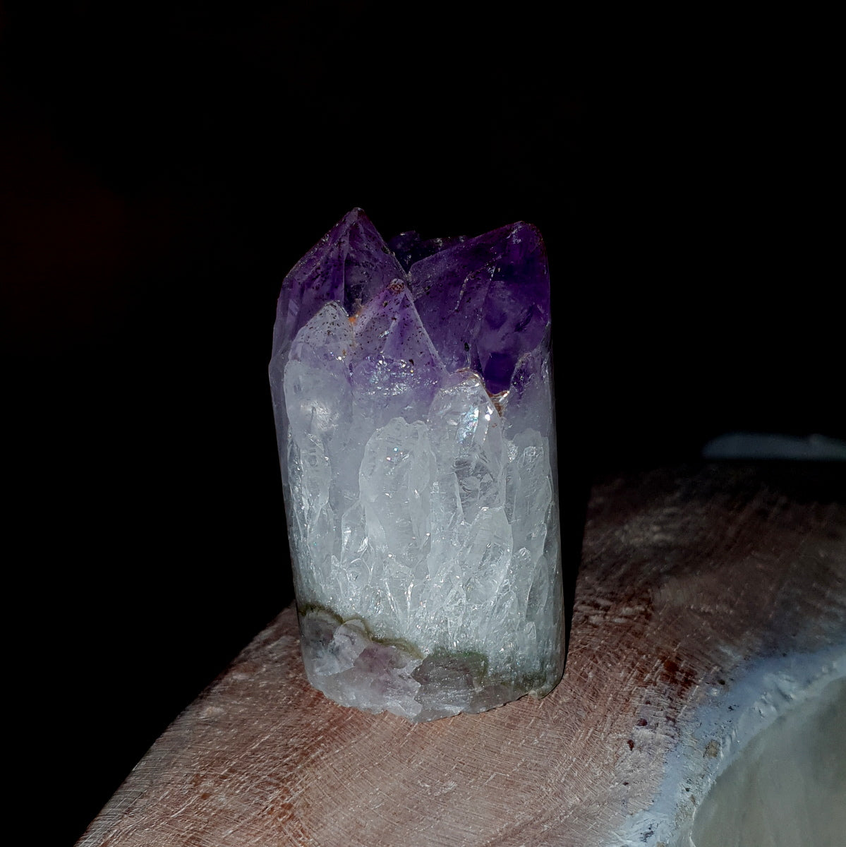 Amethyst Cylinder - Shop Now at Illiom Crystals - Afterpay Available