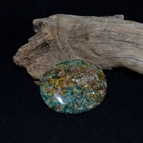 Blue Green Kyanite XL Palmstone A (GSL6A)