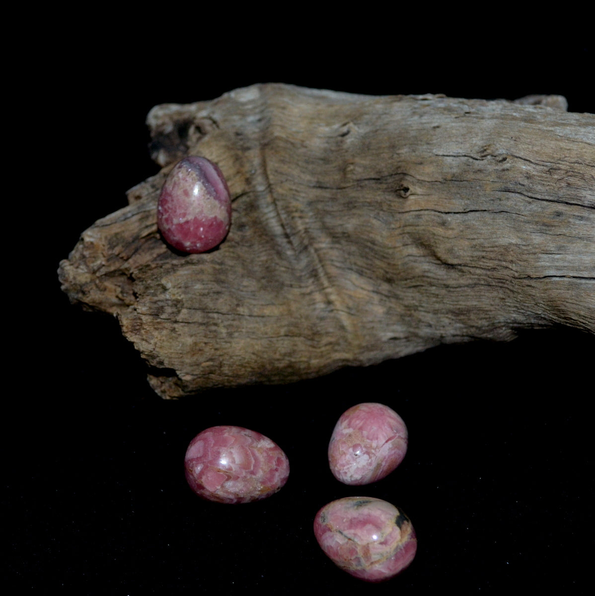 Rhodochrosite Gemstone Egg - Deep Love Self Love Heart Healing Soul Mate - Available at Illiom Crystals - We have Afterpay