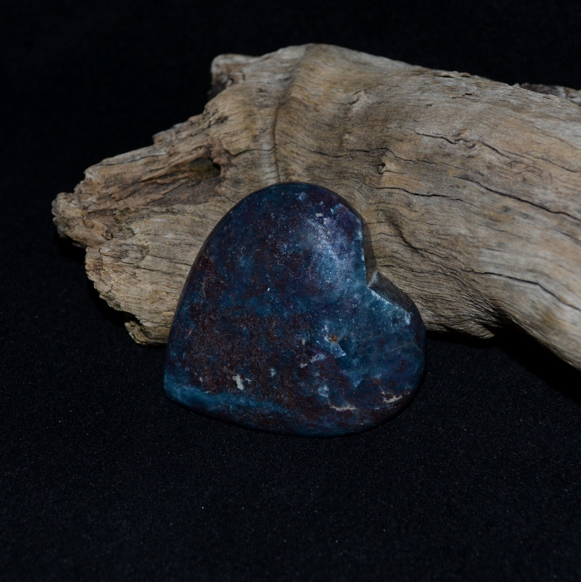 Ruby Kyanite Heart - Protection Balance Nurturing Passion - Shop Now at Illiom Crystals - Now with Afterpay
