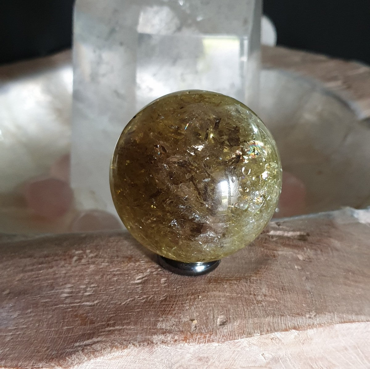 Smoky Citrine Sphere B 60mm (IY1-2-1B)