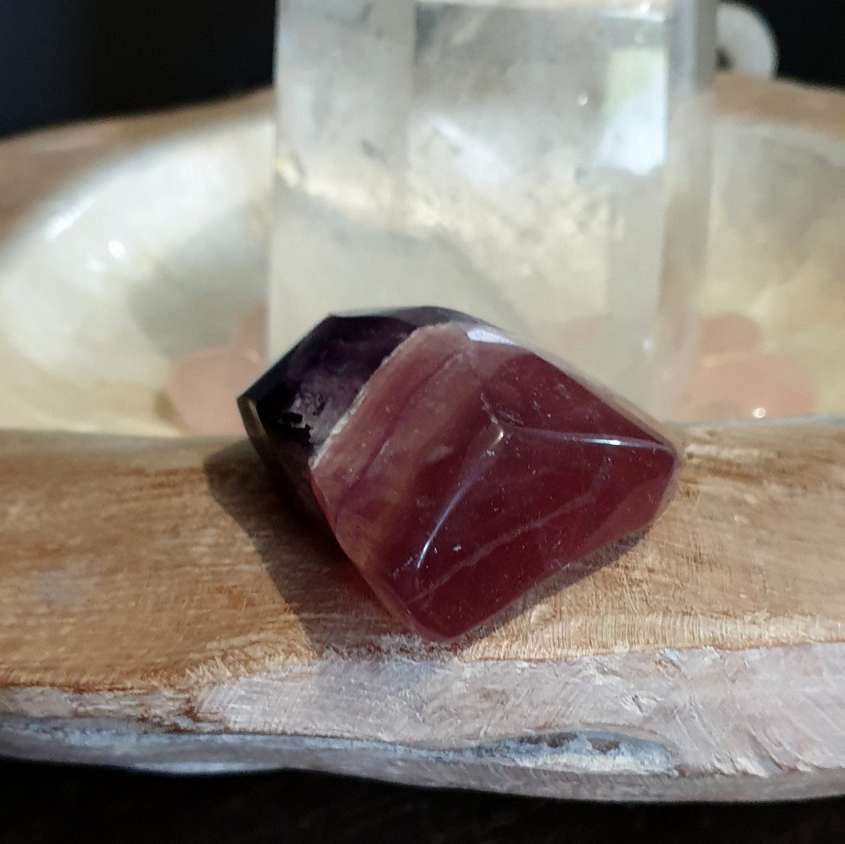 Purple Banded Fluorite Freeform - Shop Now at Illiom Crystals - Afterpay Available