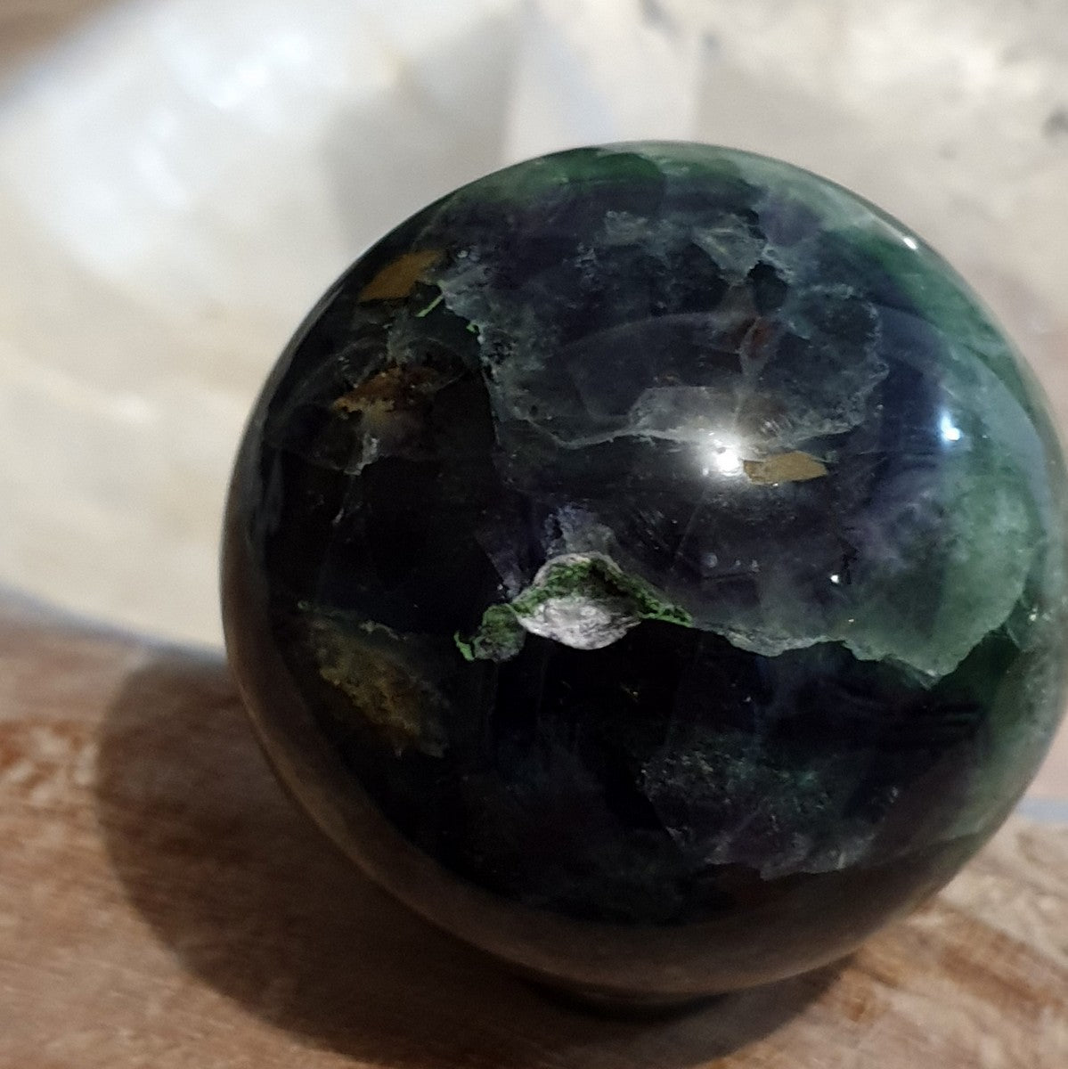 Rainbow Fluorite Sphere - Buy Now at Illiom Crystals - Afterpay Available