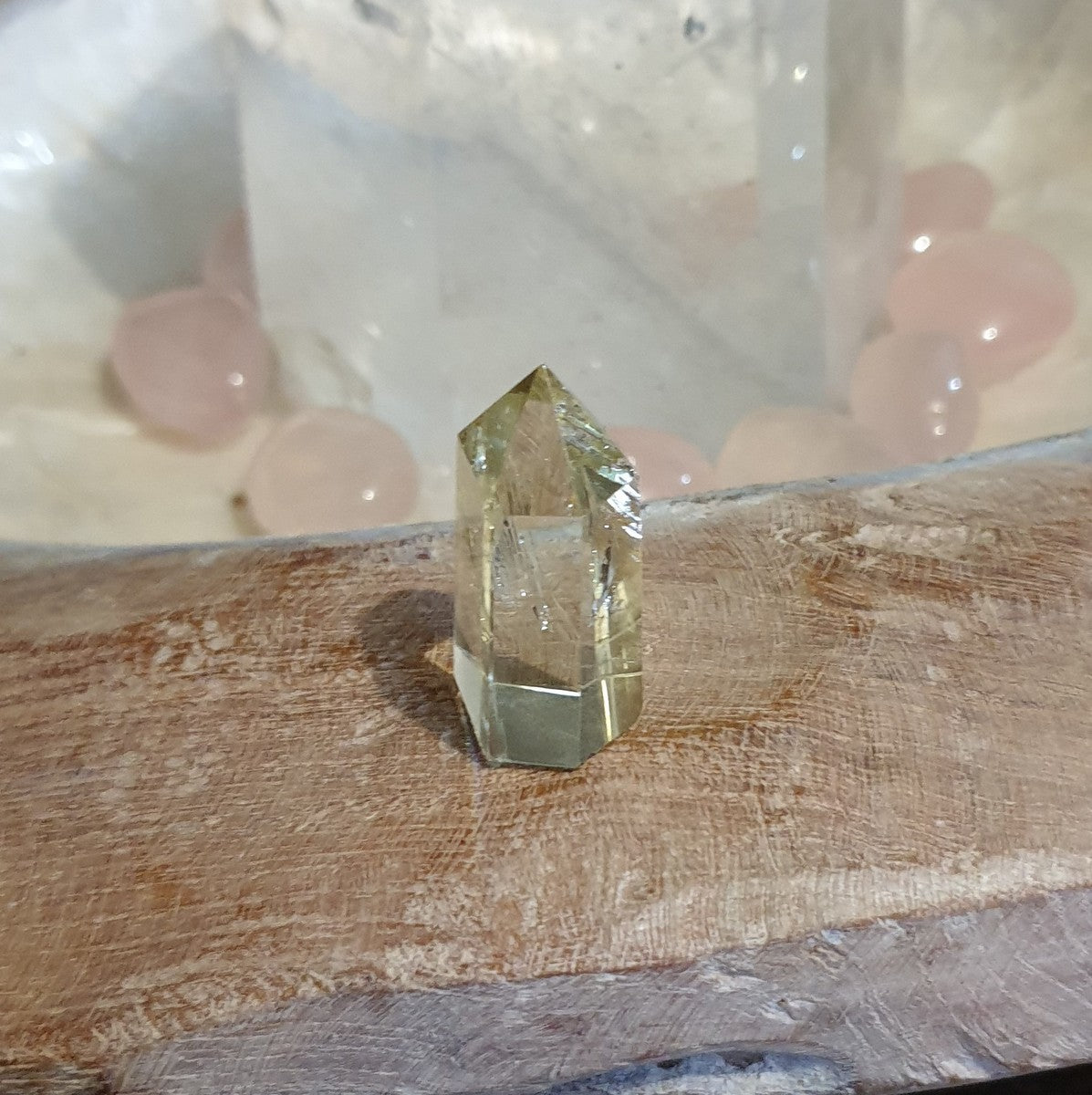Natural Citrine Small Polished Point - Happiness Abundance - Shop Now at Illiom Crystals - Afterpay Available