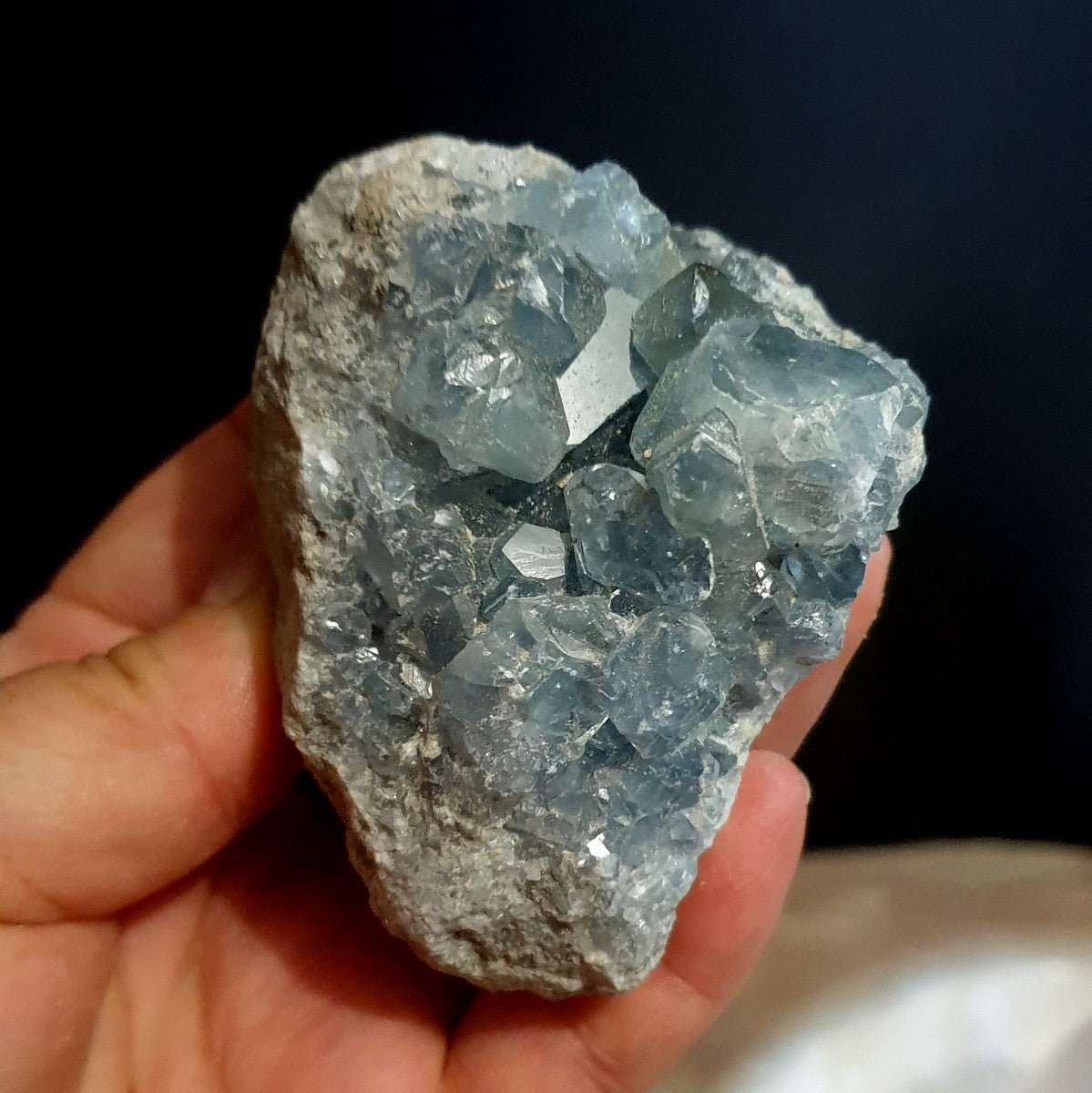 Celestite Geode Cluster Madagascar - Shop with Afterpay at Illiom Crystals