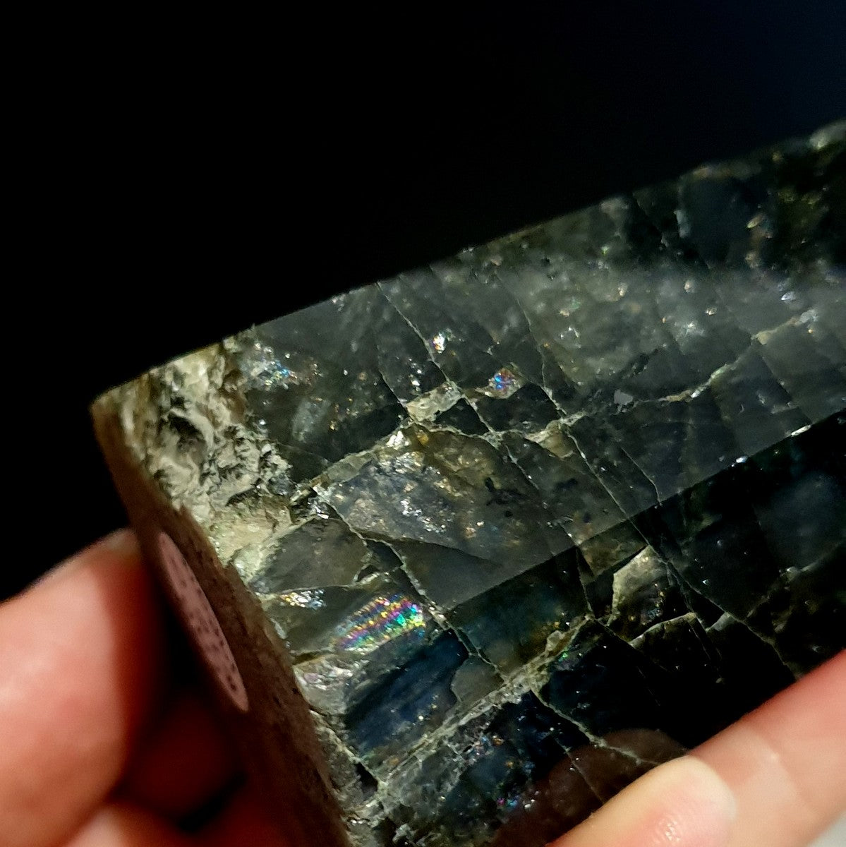 Labradorite Rainbow Polished Point - Shop with Afterpay at Illiom Crystals