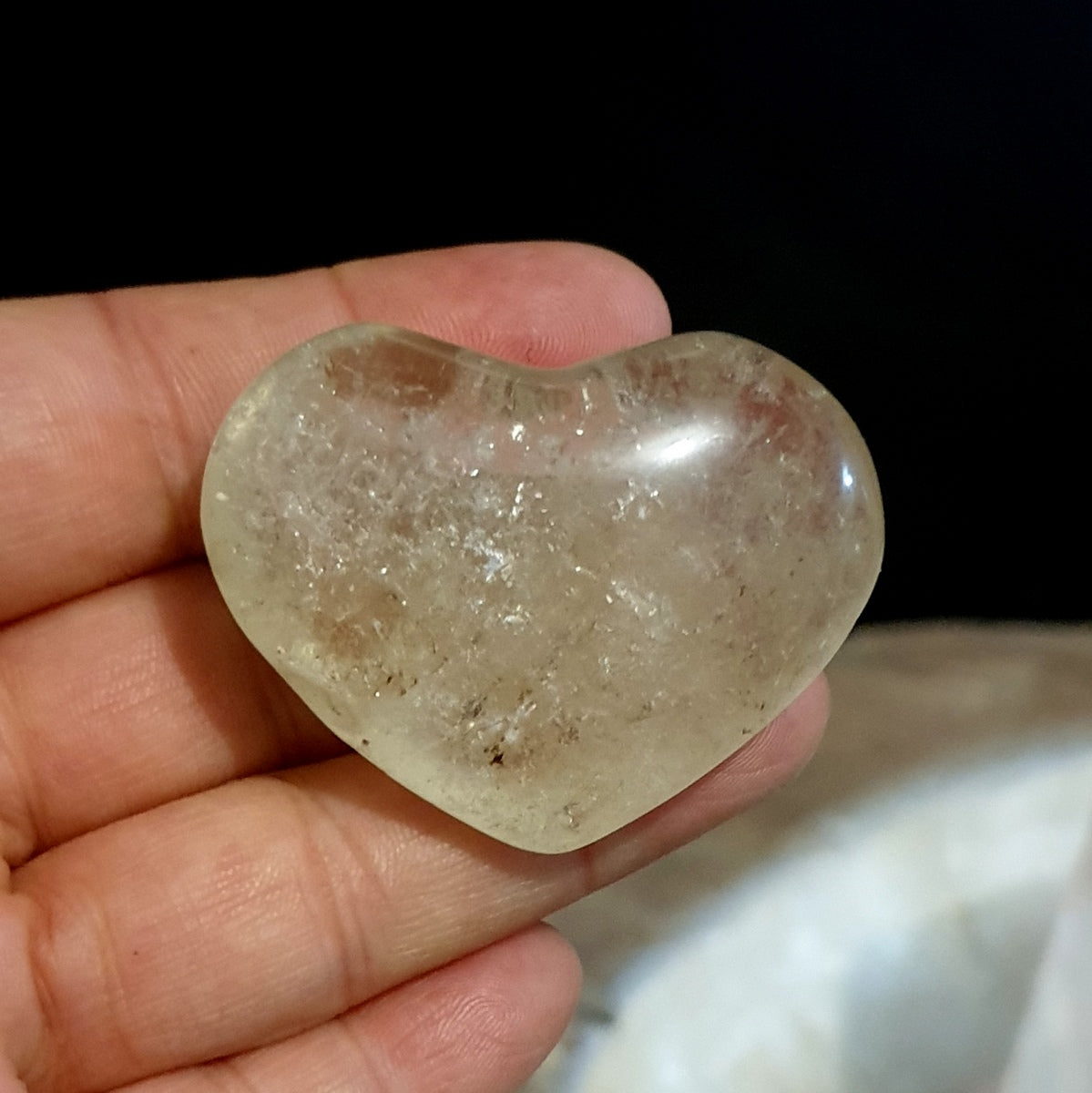 Citrine Heart - Illiom Crystals - Afterpay Available