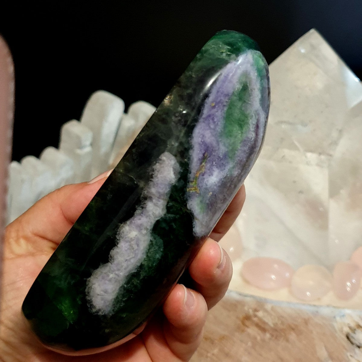 Rainbow Fluorite Gemstone Bowl - Shop with Afterpay at Illiom Crystals