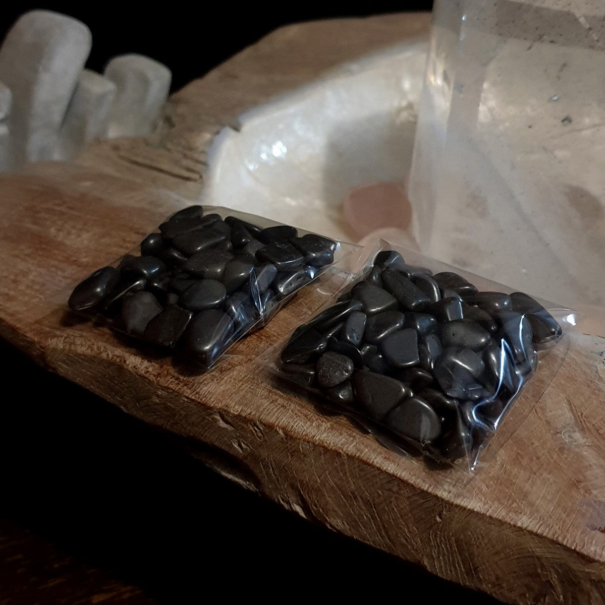 Hematite Crystal Chips Mini Tumbles - Illiom Crystals - Afterpay Available