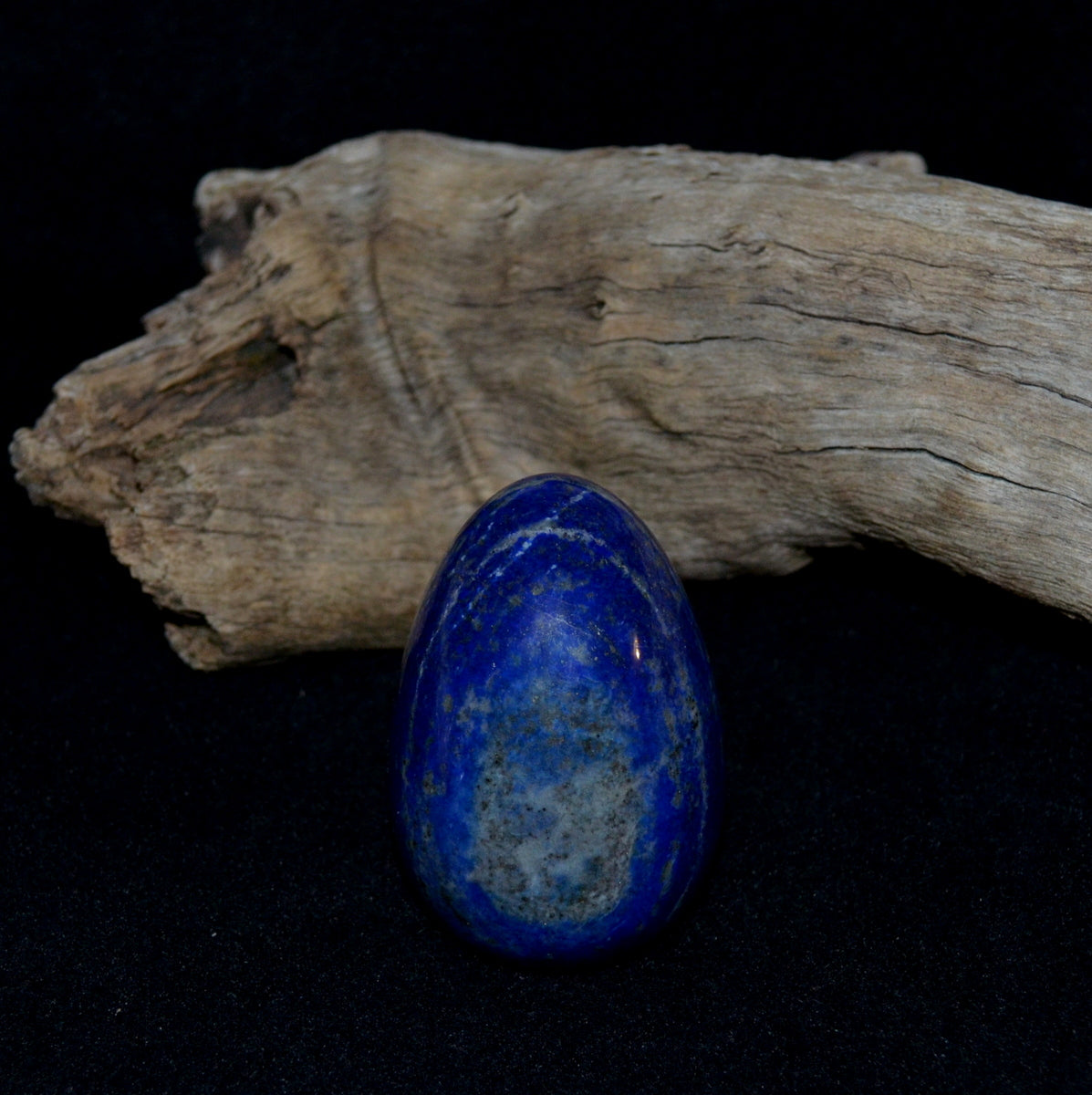 Lapis Lazuli Egg Afghanistan - Intuition Visions Past Lives Knowing - Shop now at Illiom Crystals - We have Afterpay