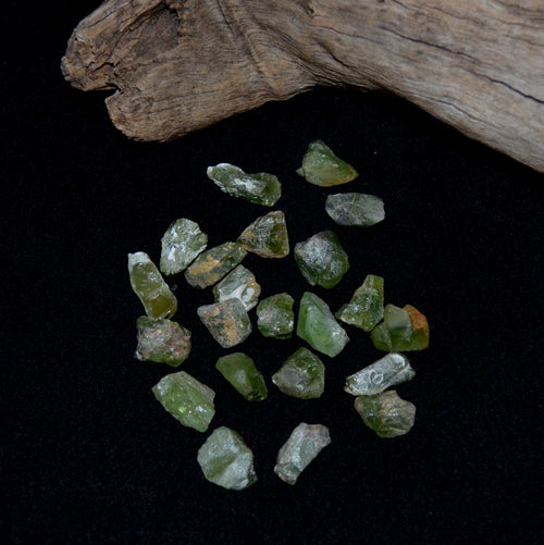 Peridot Natural Rough Large Crystals Each (KPG2-8D)
