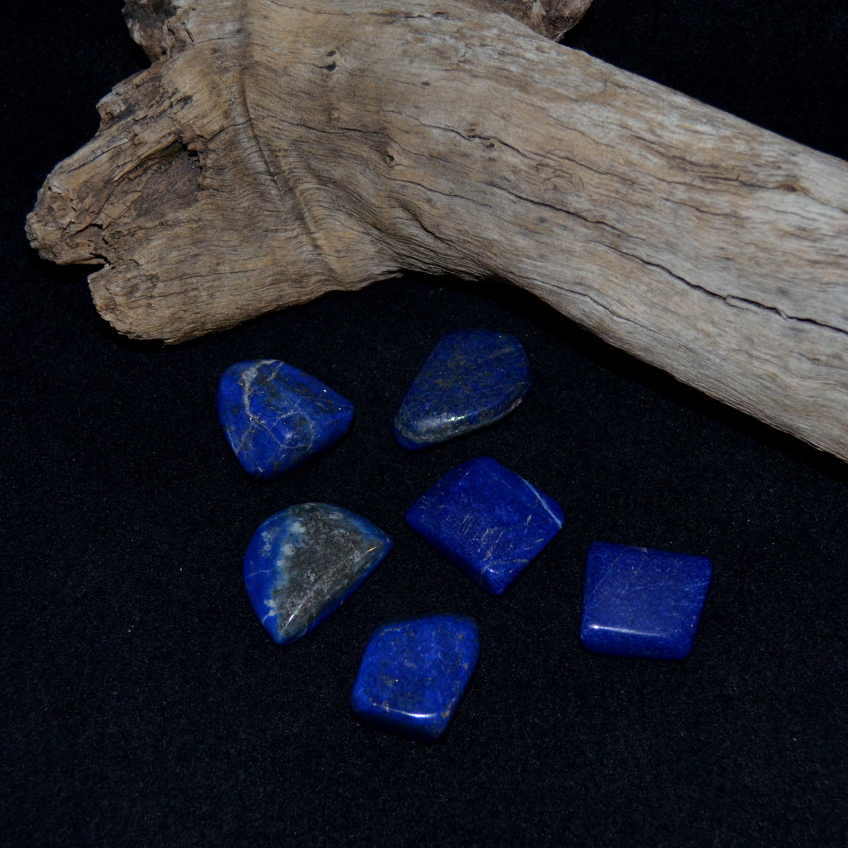 Lapis Lazuli Tumble Stones - Intuition Visions Past Lives Knowing - Shop now at Illiom Crystals - We have Afterpay