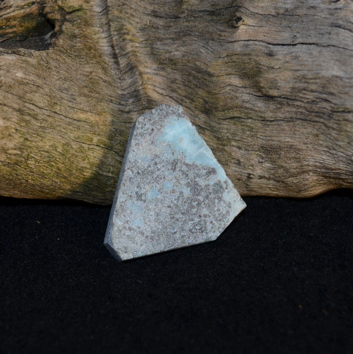 Larimar Natural Slab - Nurturing Water Energy - Available to Buy Now at Illiom Crystals - Now with Afterpay