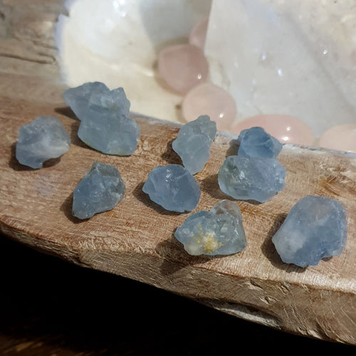 Celestite Natural Crystals Madagascar Small Each (LH-1-6S)