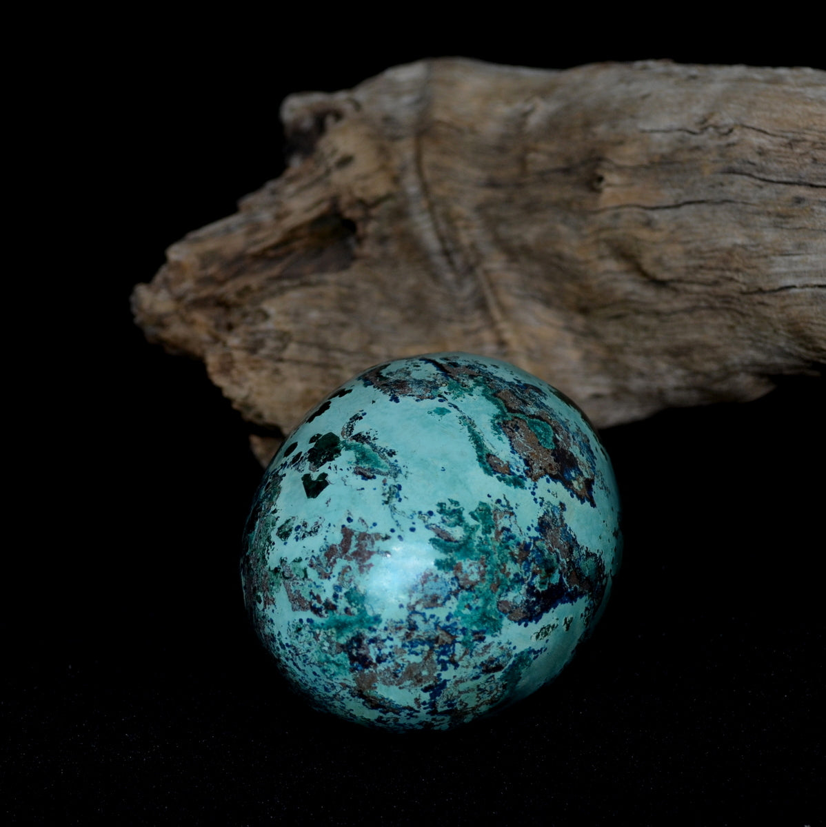 Shattuckite Gemstone Egg - Truth Humanity Encouragement Spiritual Healing - Shop Now at Illiom Crystals - Afterpay Available