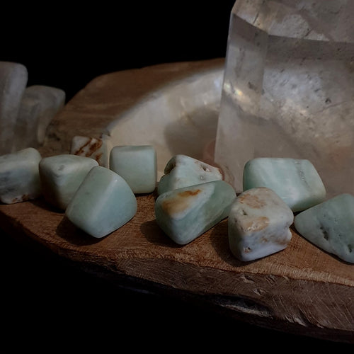 Caribbean Calcite Matt Tumble Stone Large - EACH (RGB1-13C)