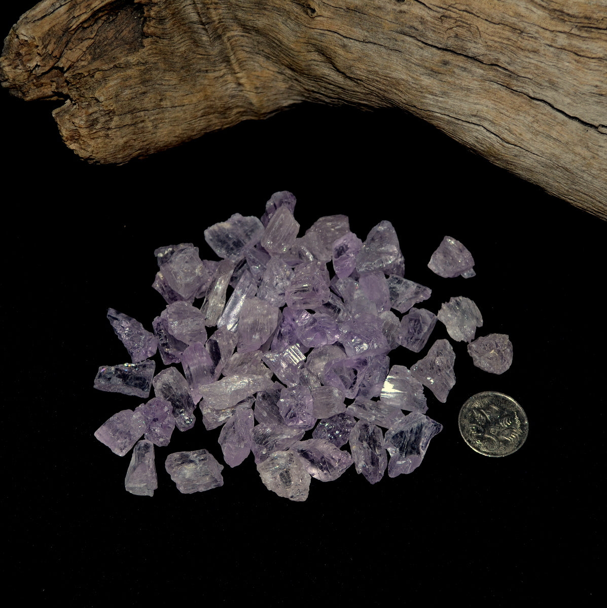 Gemmy Lilac Pink Kunzite Pieces - Shop Now at Illiom Crystals - Afterpay Available