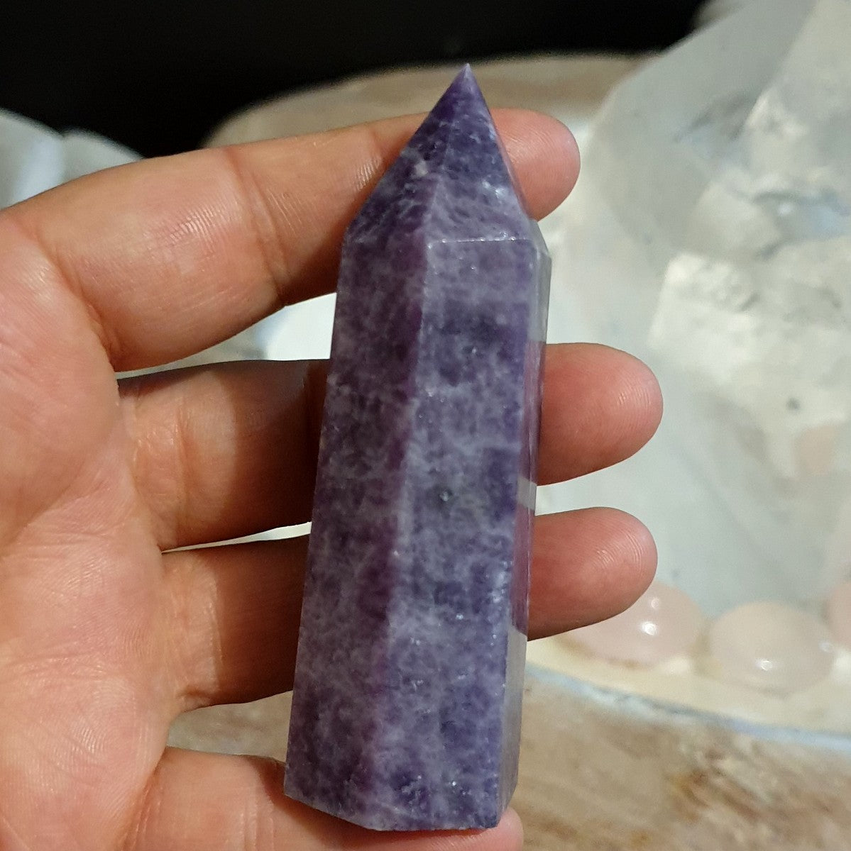 Lepidolite Polished Point - Illiom Crystals - Afterpay Available