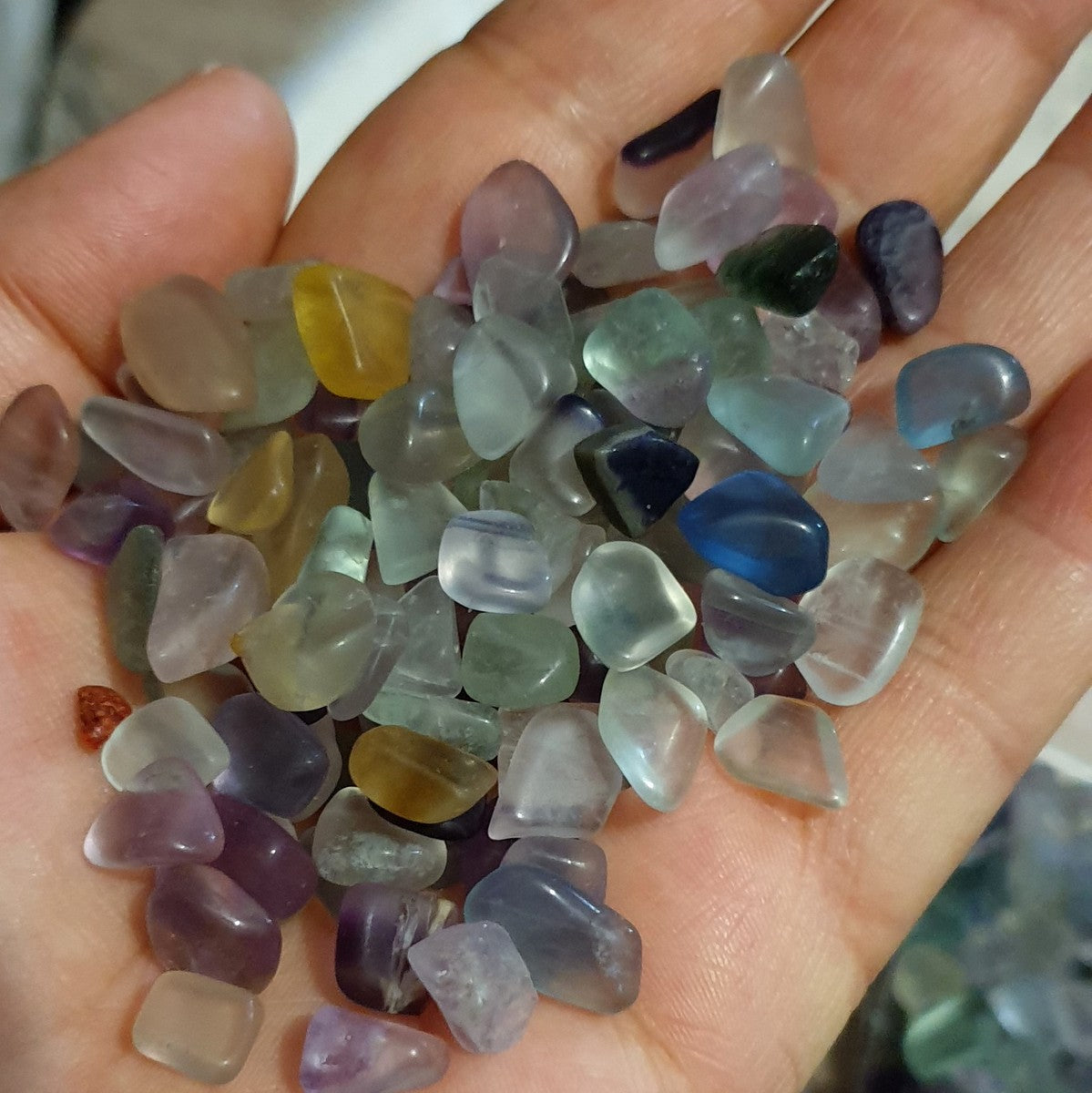 Fluorite Crystal Chips - Illiom Crystals - Afterpay Available