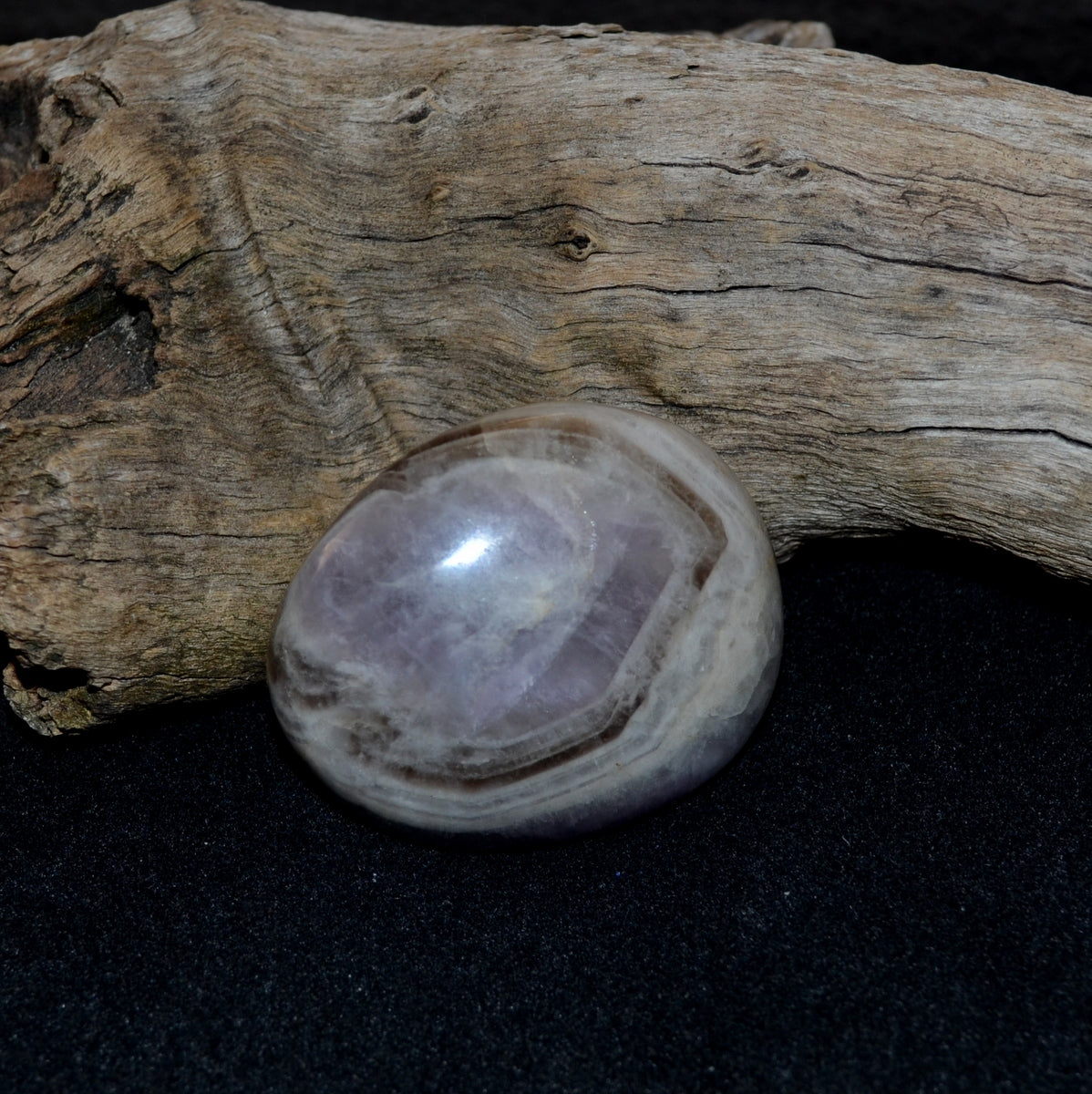 Banded Smoky Amethyst - Pure Intuition Grounding - Buy Now at Illiom Crystals - Afterpay Available