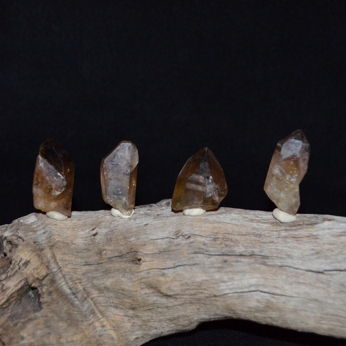 Natural Untreated Smoky Citrine Point - Wealth Abundance Law of Attraction Manifestation - Shop now at Illiom Crystals - We Have Afterpay