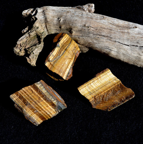 Tiger Eye Natural Chunk Africa Each (T3-24)