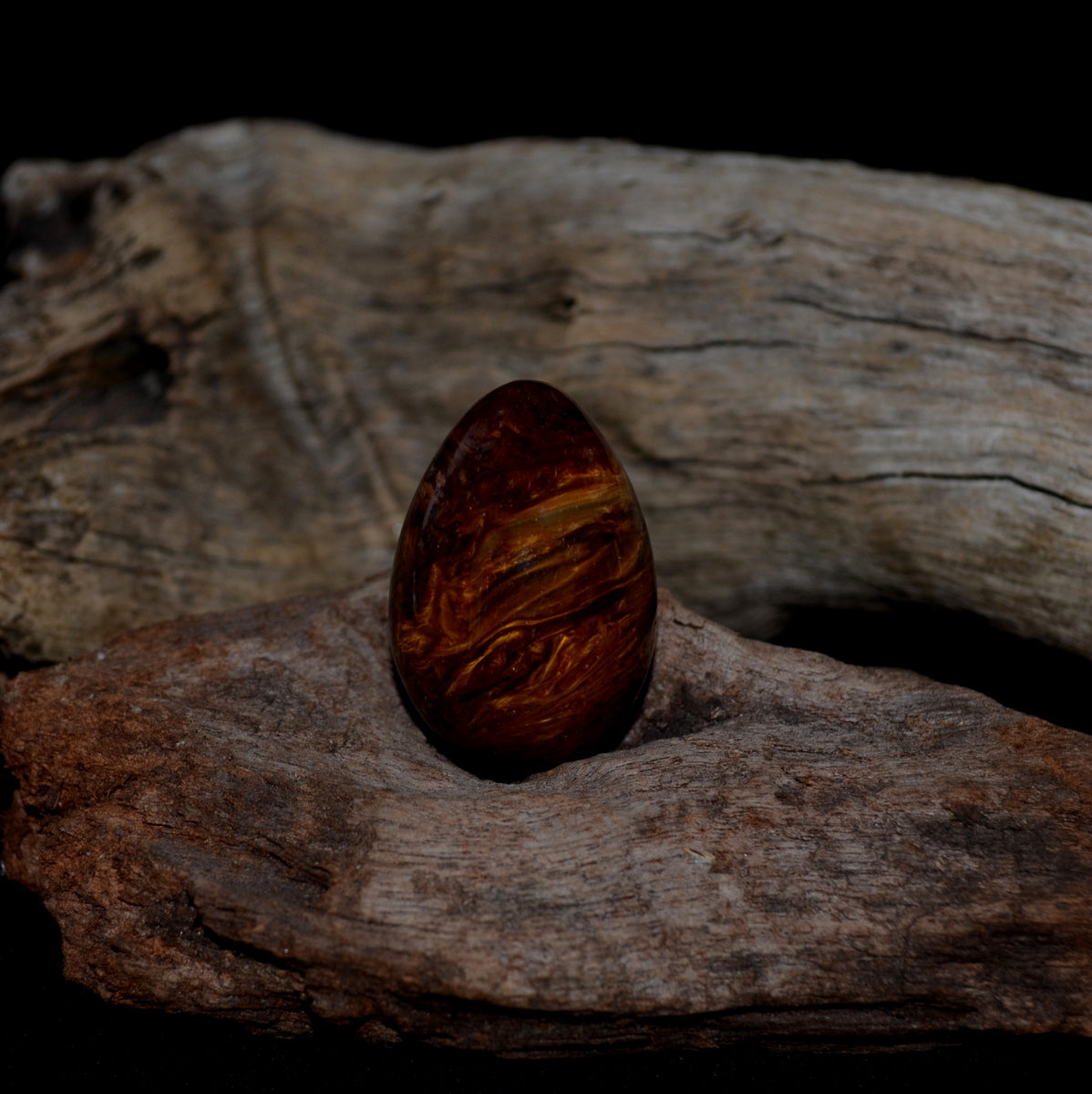 Pietersite Red Gold Gemstone Egg at Illiom Crystals - Afterpay Available