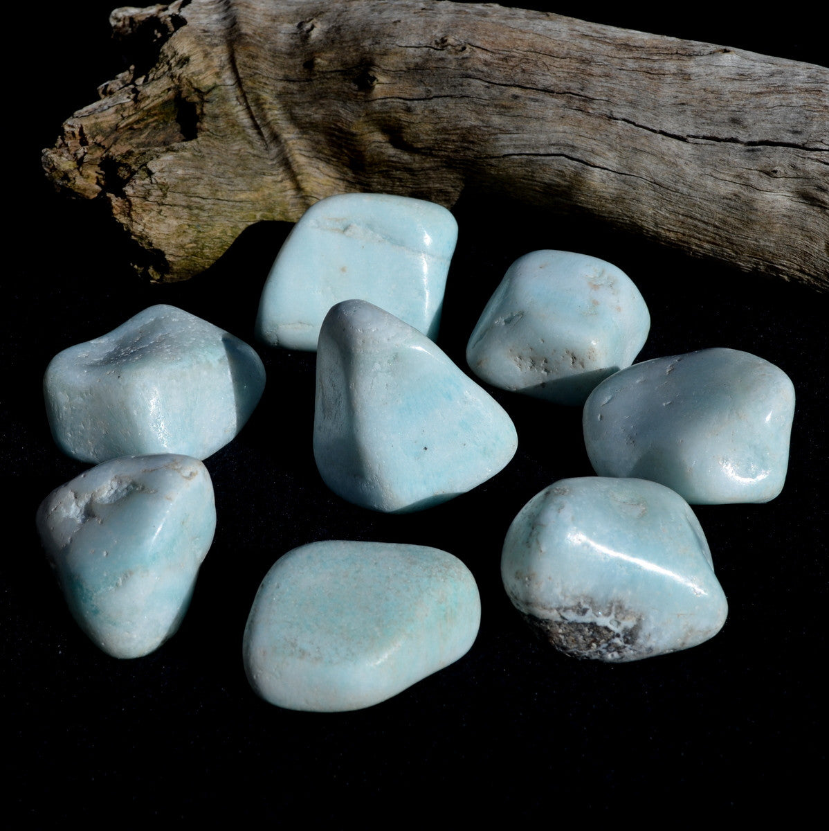 Blue Smithsonite Extra Large Tumbles - Psychic Connections Healing Calming - Buy now at Illiom Crystals - Now with Afterpay