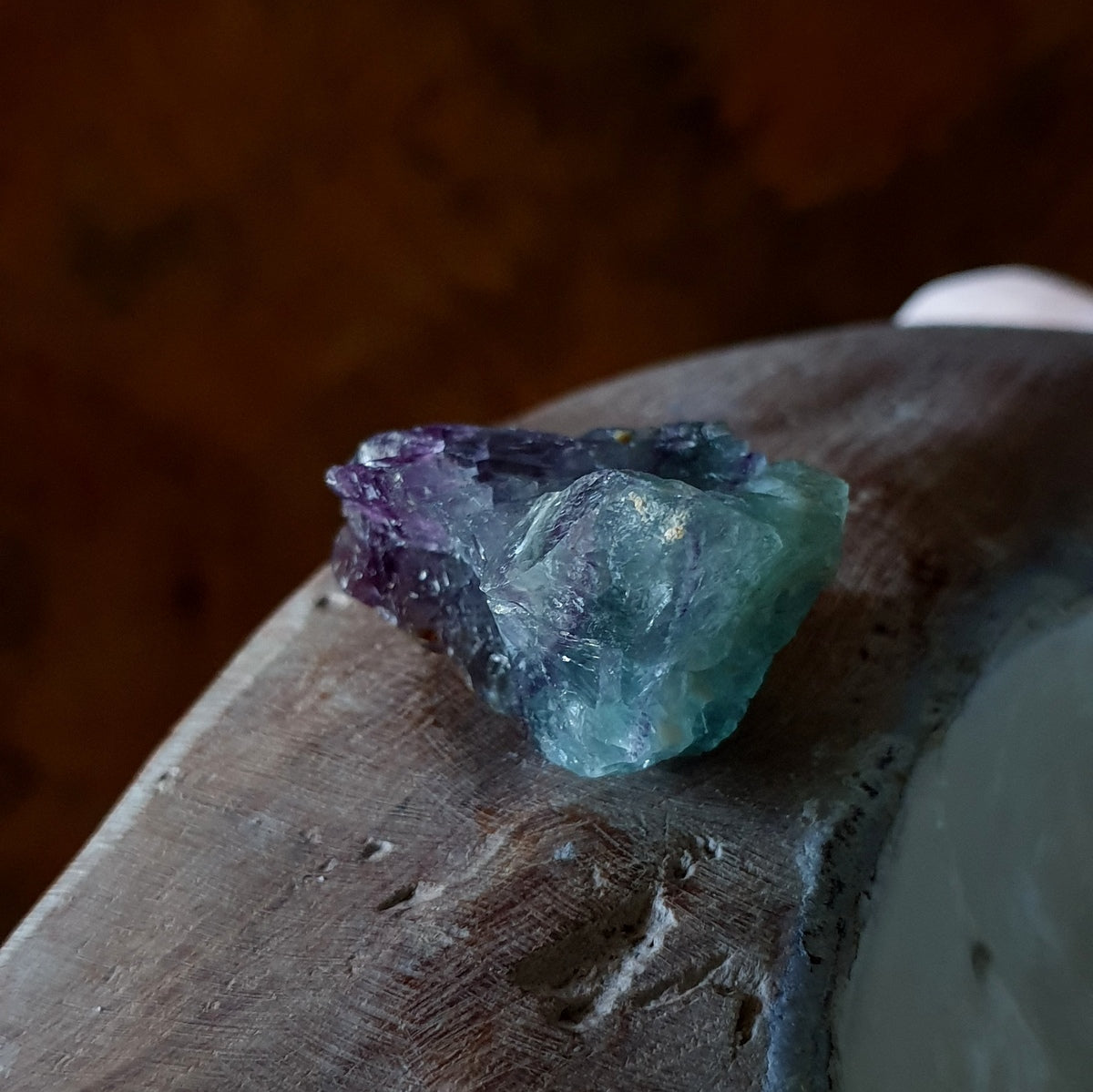 Namibian Fluorite Natural Rough Chunk - Shop Now at Illiom Crystals - Afterpay Available