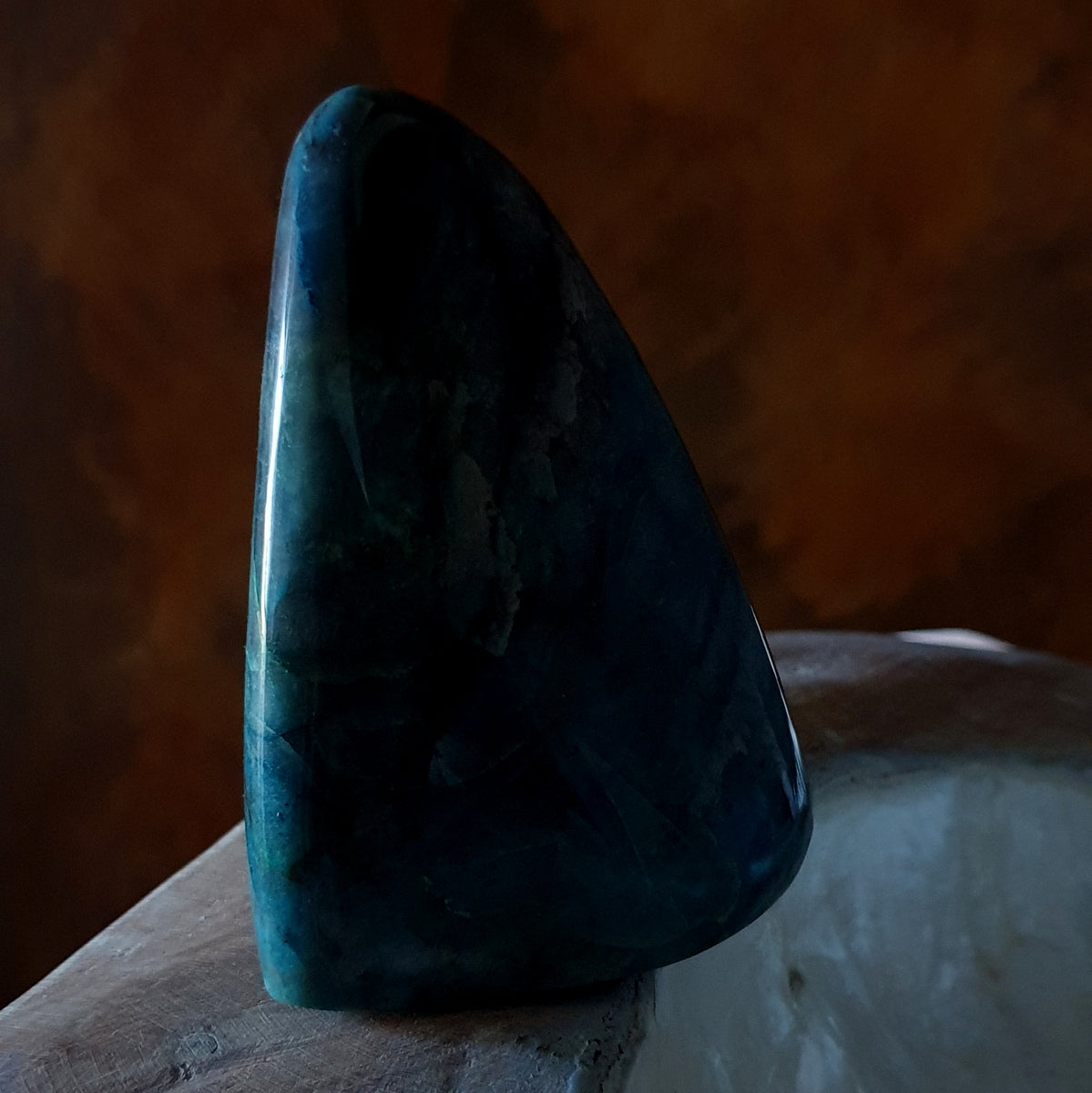 Shattuckite Polished Freeform Congo - Shop Now at Illiom Crystals - Afterpay Available