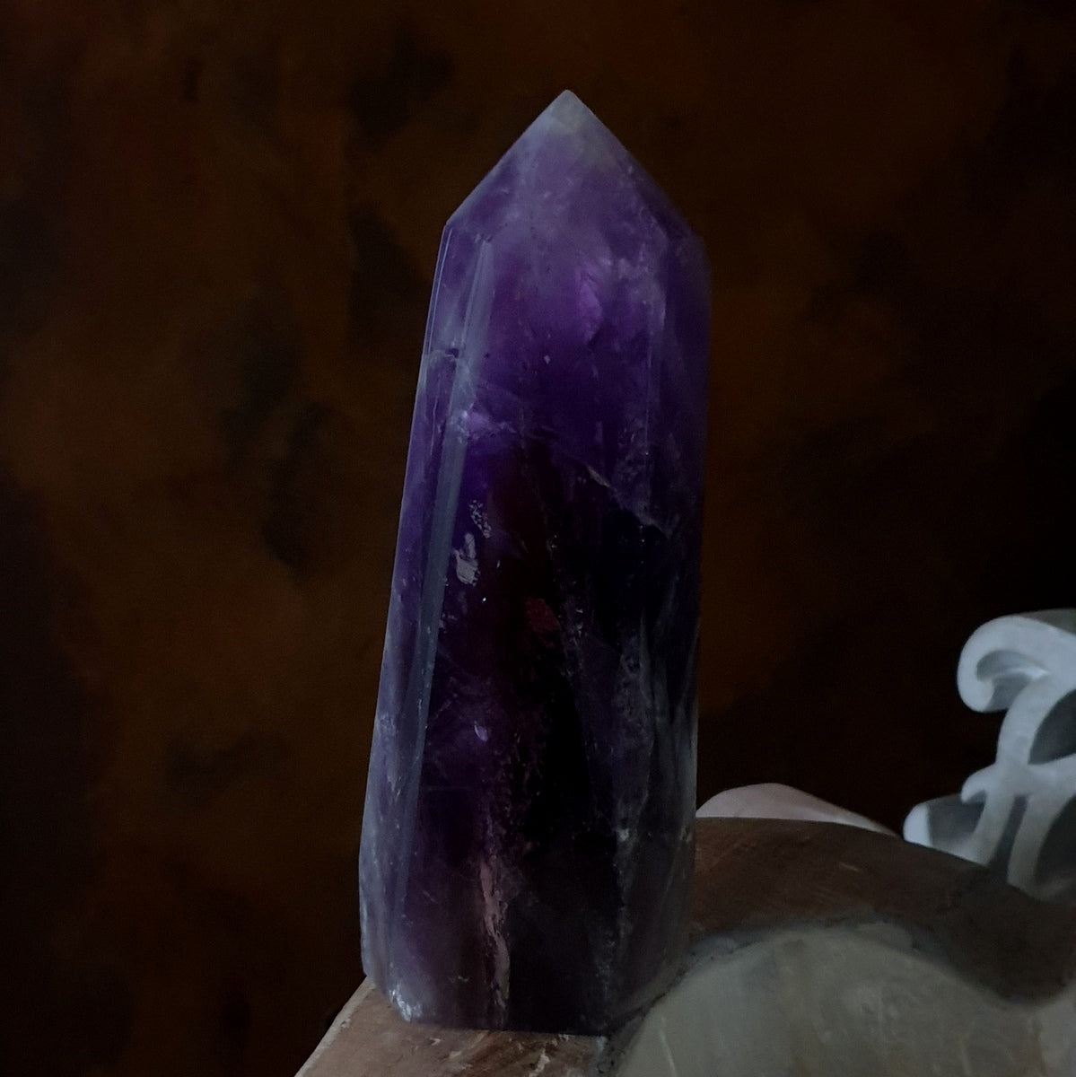 Amethyst Smoky Citrine Polished Large Point - Shop Now at Illiom Crystals - Afterpay Available