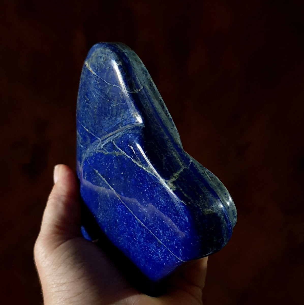 Lapis Polished Freeform - Shop Now at Illiom Crystals - Afterpay Available
