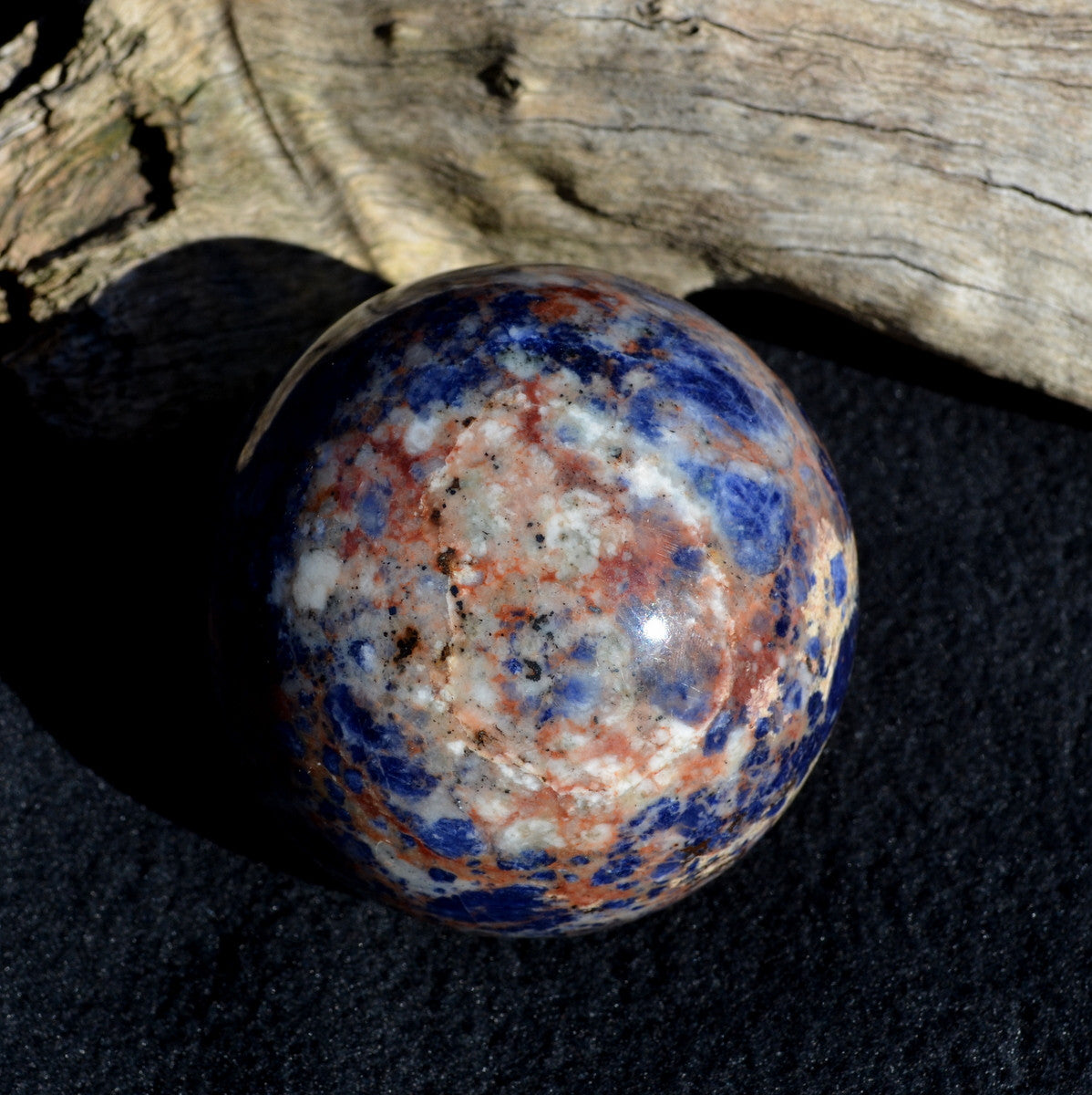 Sodalite Large Sphere - Focus Belief Confidence - Shop Now at Illiom Crystals - Now with Afterpay
