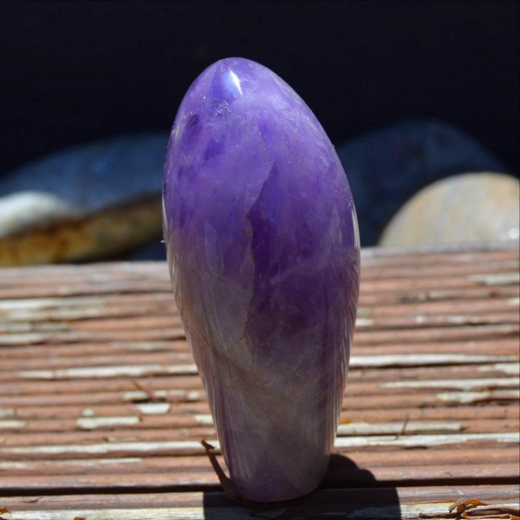 Amethyst Polished Freeform Madagascar
