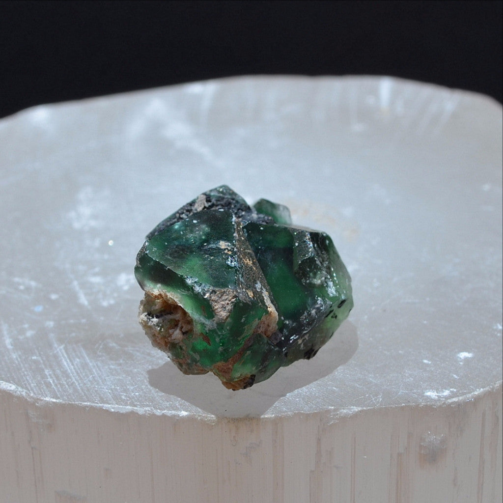 Green Fluorite Cube Specimen Riemvasmaak Northern Cape Africa