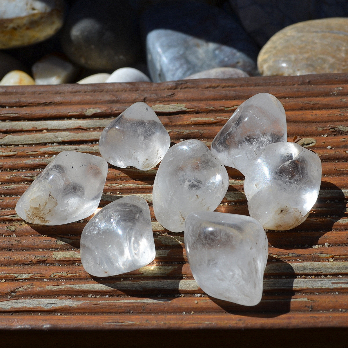 Hollandite Star Quartz Tumbles Rare Each