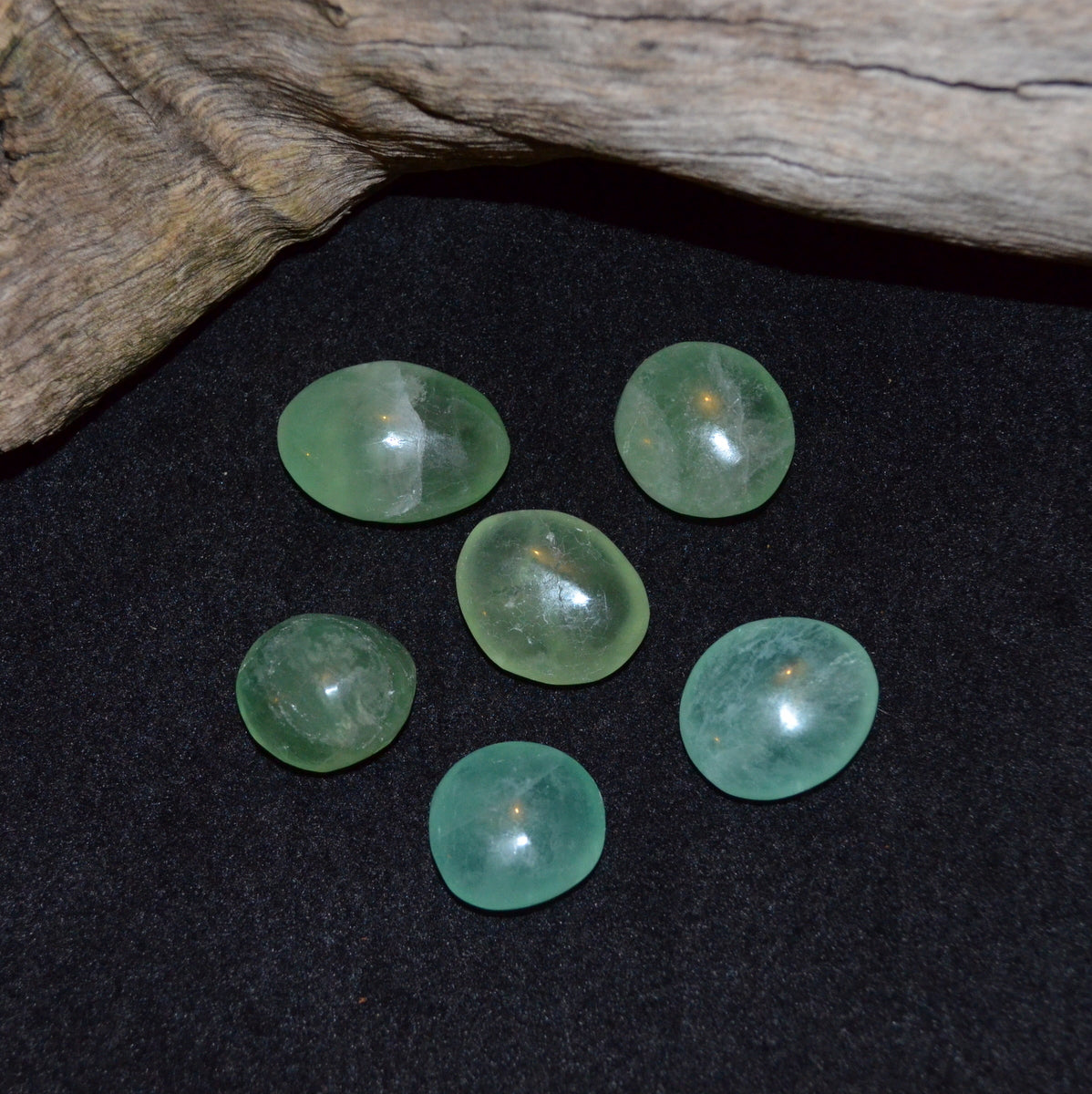 Green Fluorite Tumbles - Focus Heart Growth - Buy Now at Illiom Crystals - Afterpay Available