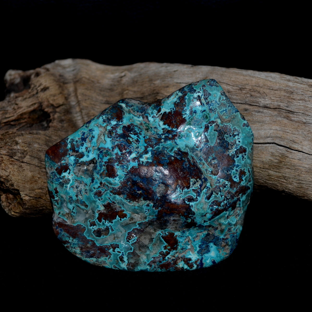 Shattuckite Polished Freeform Congo at Illiom Crystals - Afterpay Available