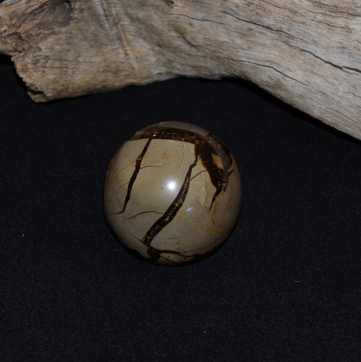Septarian Dragon Stone Sphere 59mm (T71-26B)
