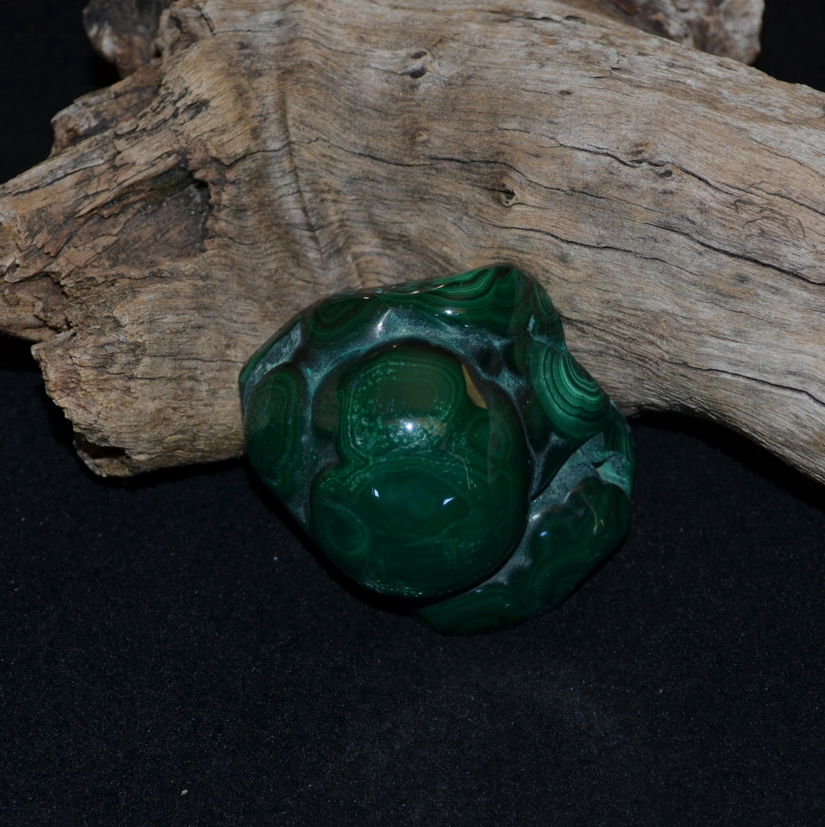 Malachite Polished Freeform - Protection Truth Heart Healing - Shop Now at Illiom Crystals - Now with Afterpay