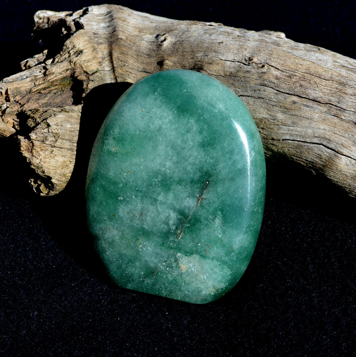 Fuchsite in Quartz Polished Freeform - Nurturing Joy Compassion - Now at Illiom Crystals - Afterpay Available