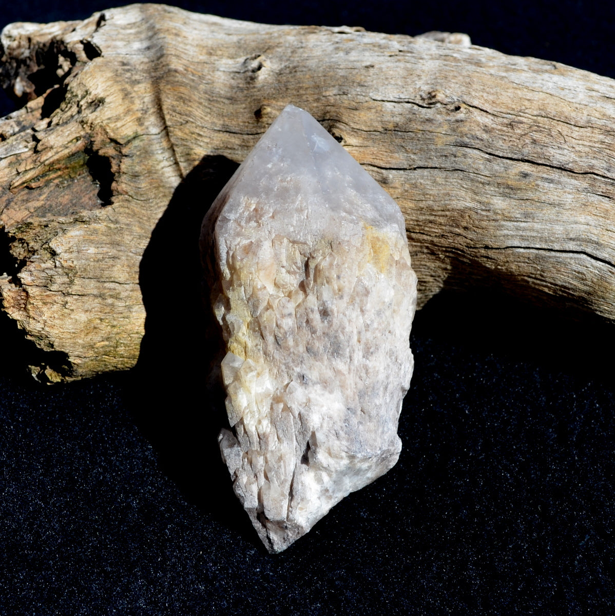 Pineapple Candle Quartz - Akashic Records Wisdom Healing - Shop Now at Illiom Crystals - Now with Afterpay