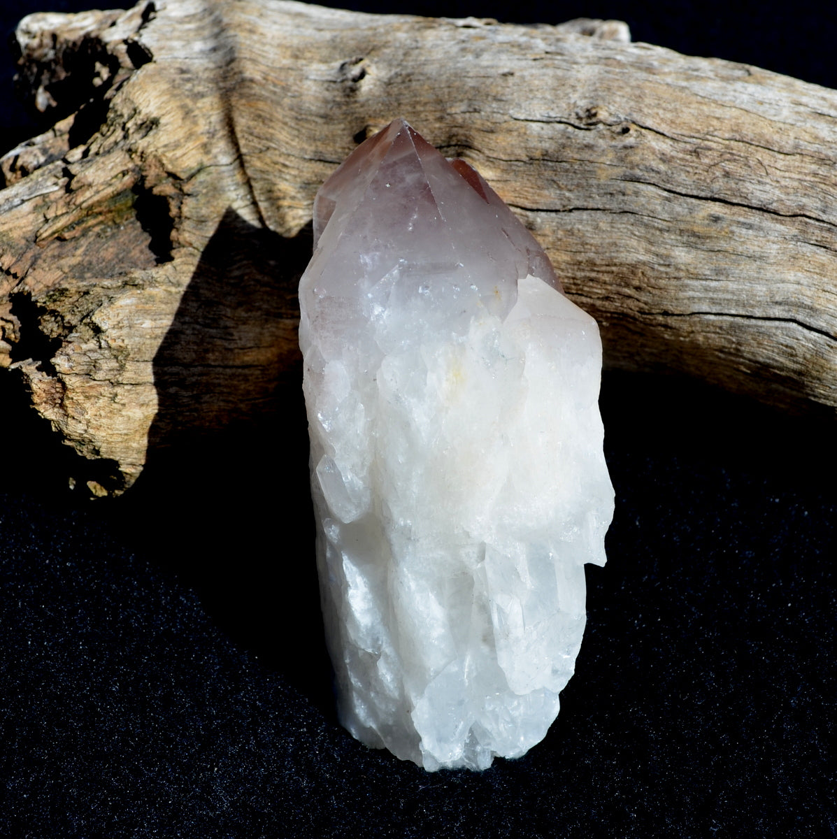 Lithium Candle Quartz - Soothing Anxiety Calming Meditation - Shop Now at Illiom Crystals - Now with Afterpay