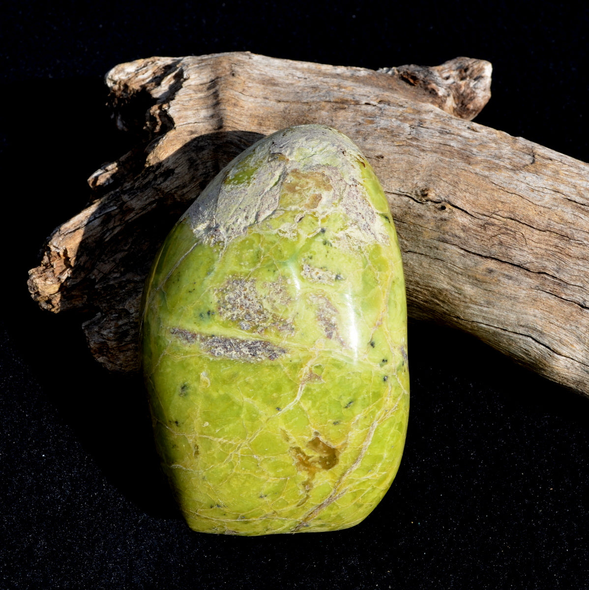 Green Opal Freeform Madagascar - Cleansing Rejuvenating Nurture - Now at Illiom Crystals - Afterpay Available