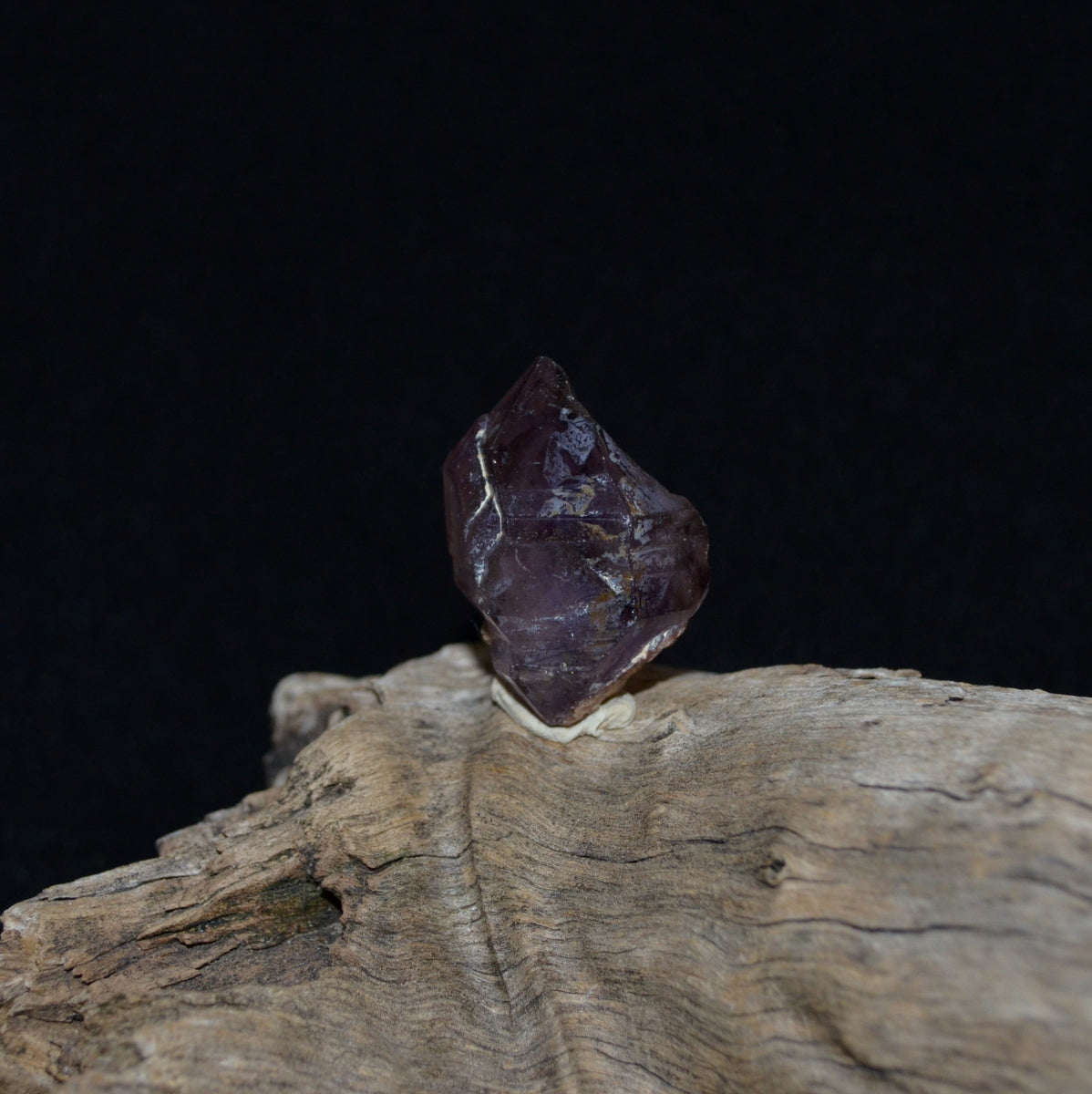 Smoky Amethyst Sceptre Phantom Brandberg Crystal - Ancient Wisdom Earth Connection - Available now at Illiom Crystals - We have Afterpay!